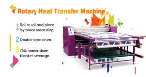 roller drum heat transfer machine