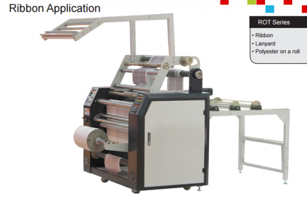 Ribbon Heat Press Machine