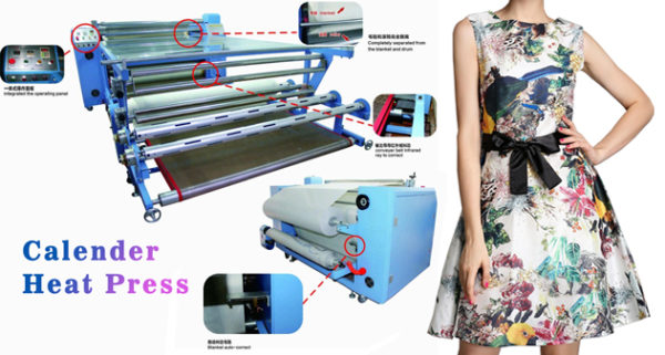 Industrial Level Rotary Heat Press