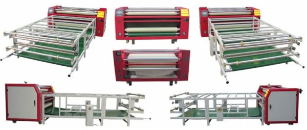wide format rotary heat press machine