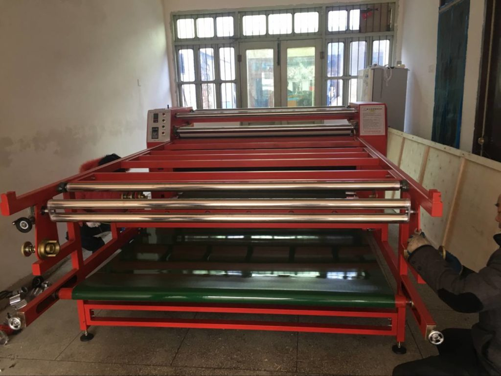 420*1800mm heat press machine