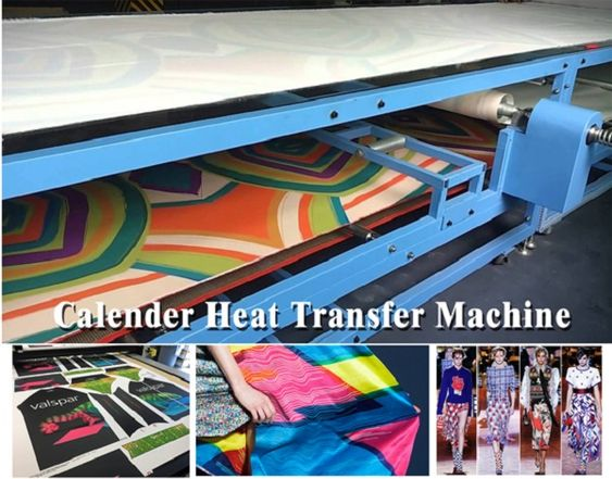 calender heat transfer machine