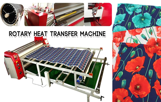 roll to roll transfer printing machine