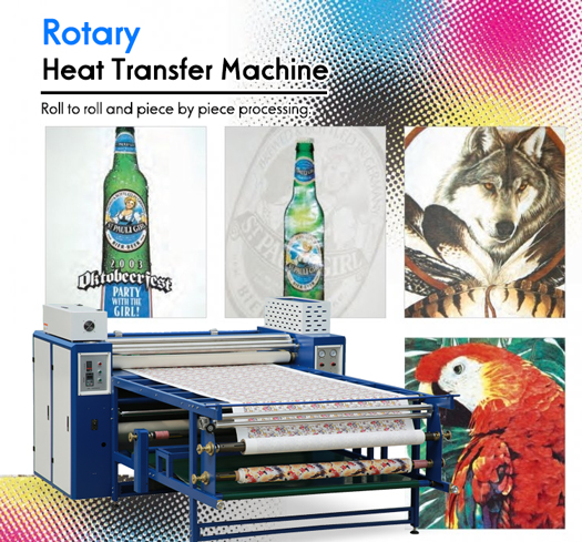 roll drum heat press