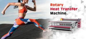 rotary heat press machine