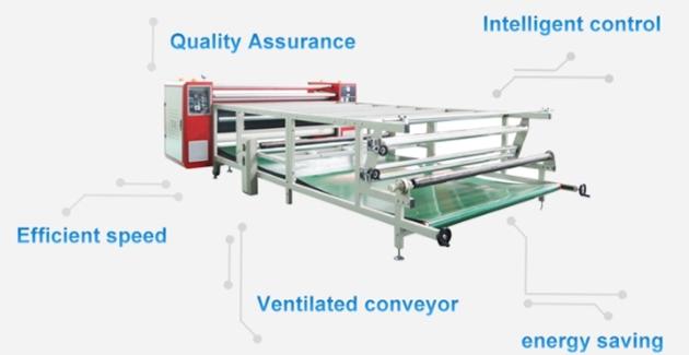 calander heat press