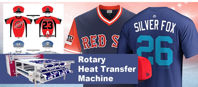 rotary heat press