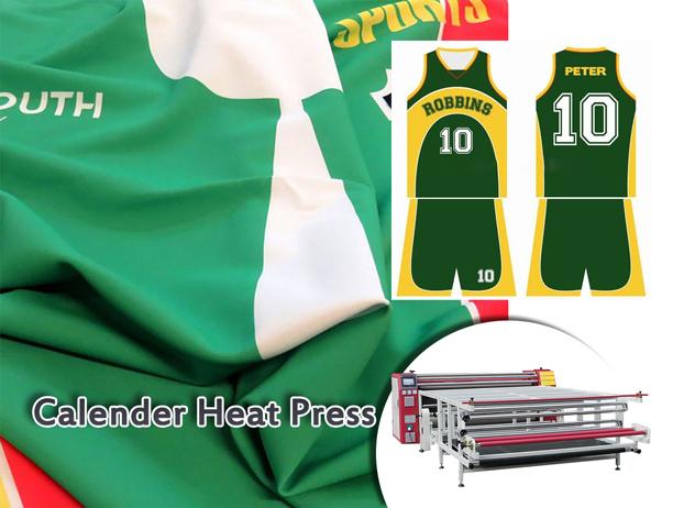 calender heat press machine