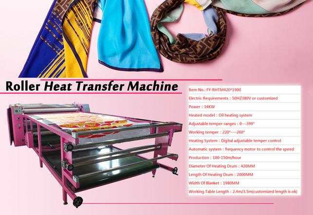 rotary drum transfer machine