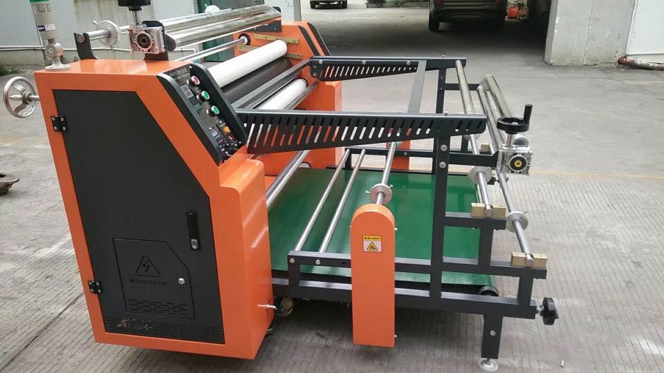 roll to roll heat press