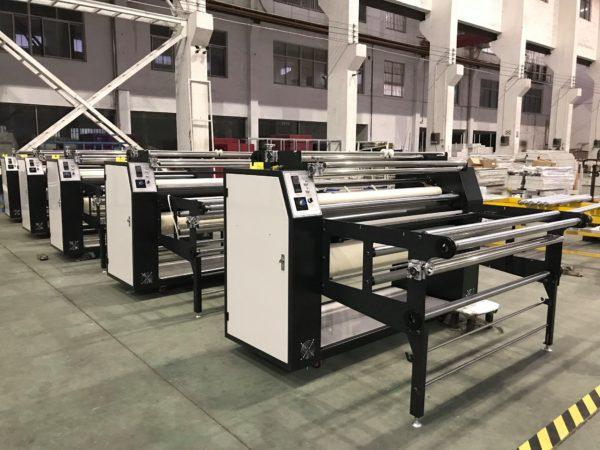 roller heat transfer printing