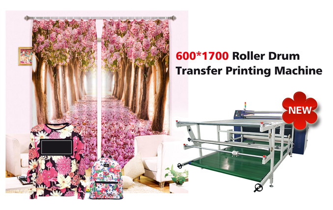 roller drum transfer printing machine