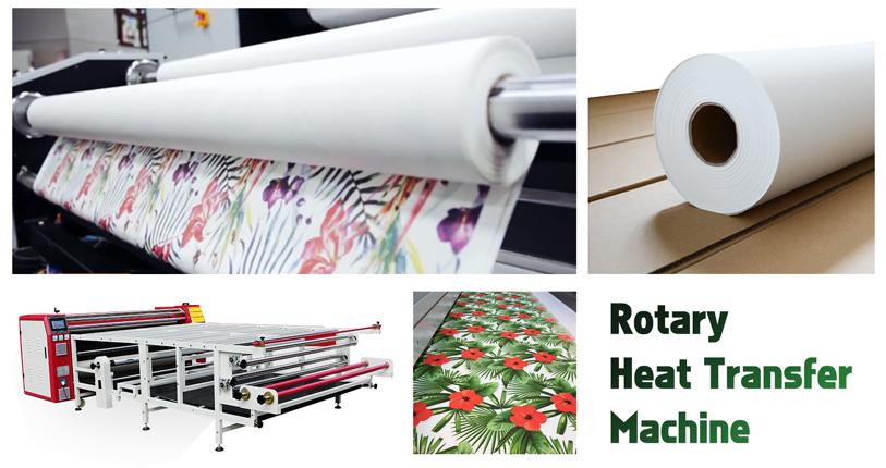 roller drum heat press machine