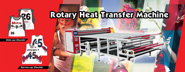 rotary drum heat press
