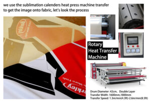 calender heat press machine