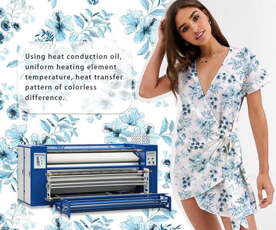 textile heat press machine